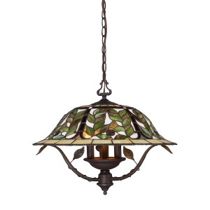 ELK Lighting 08016-TBH Latham 3 Light Chandelier