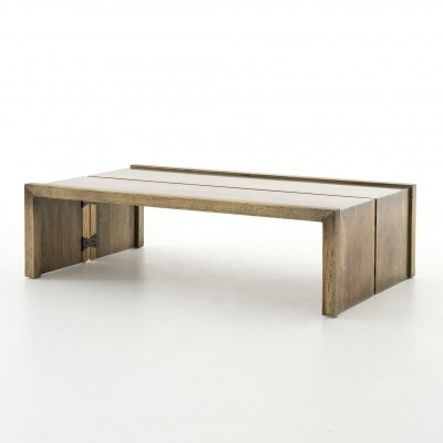 Four Hands CIMP-11P Hughes Weaver Coffee Table