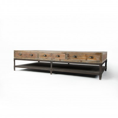 Four Hands CIRD-11D2-C2 Irondale Campbell Coffee Table